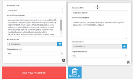 Responsive Accordion for WordPress