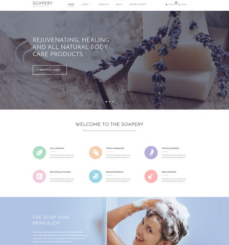 Soapery-Handcrafted-Products-theme