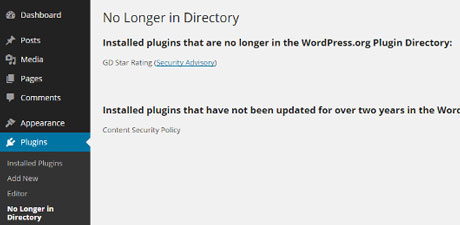 This Tool Shows Removed WordPress.org Plugins You Are Currently Running