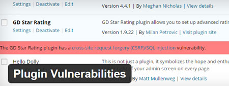 6 WordPress Plugins To Keep Up with Plugin Vulnerabilities