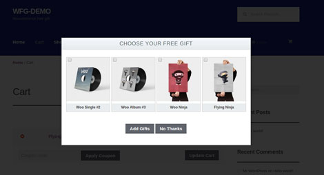 WooCommerce Multiple Free Gift Plugin