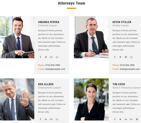 Digital Law: WordPress Theme for Law Agencies