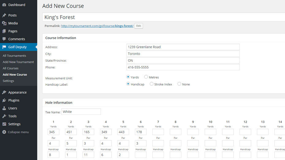 5 wordpress plugins for golf sites wp solver