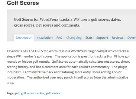 golf-scores
