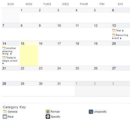 my-calendar