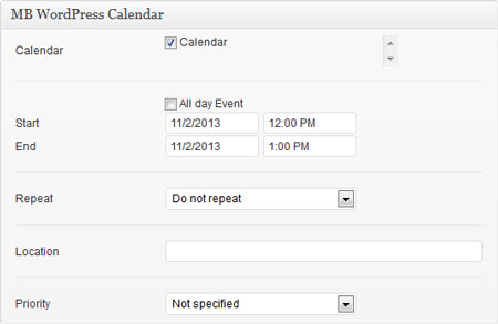 wordpress-calendar