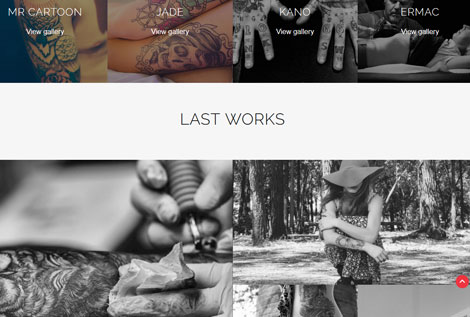 Ink Pro: Tattoo Shop WordPress Theme