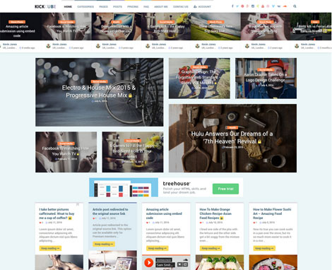 KICKCUBE Content Sharing Site for WordPress