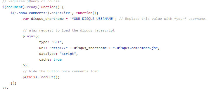 disqus-conditional