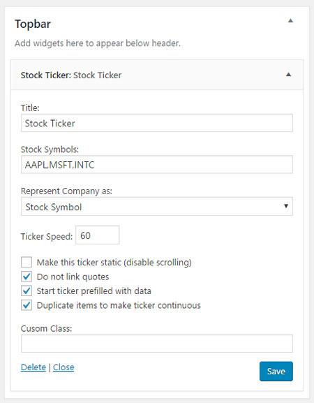 8 Stock Market WordPress Plugins