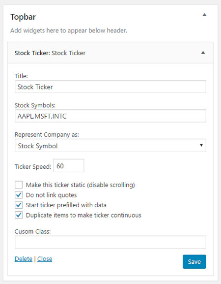 4 Stock Ticker Plugins for WordPress