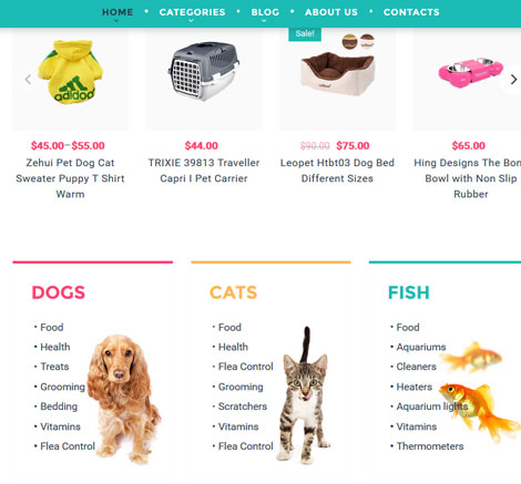 PetTown: Pet Store WooCommerce Theme