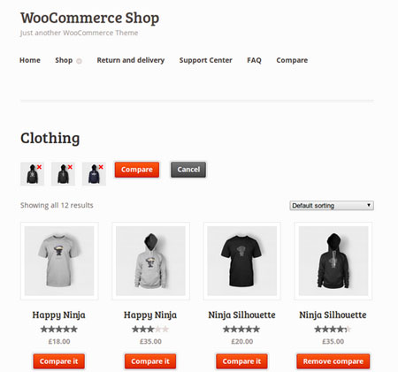 4 Product Comparison Plugins for WooCommerce