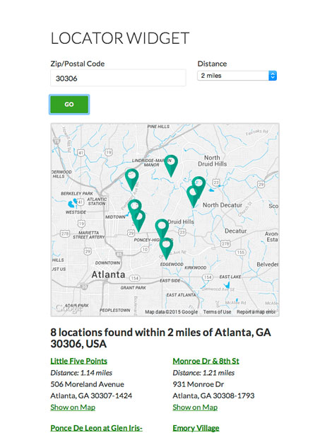 Simple Locator Add Google Maps Location Search To Wordpress Pages
