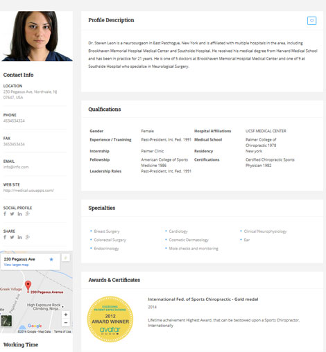 Medical Directory: Hospitals & Doctors Listing Theme for WordPress