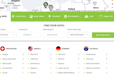 Hotel Advisor: WordPress Theme for Hotel Directories