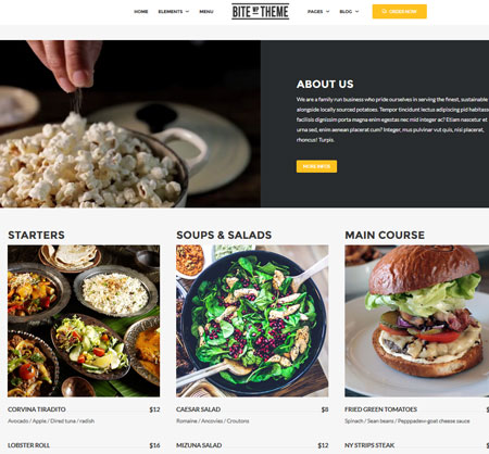15+ Pizza Themes for WordPress Sites