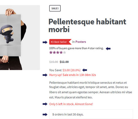 XL WooCommerce Sales Triggers Plugin