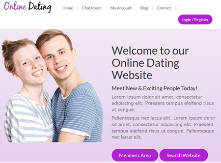 Online Dating Theme for WordPress