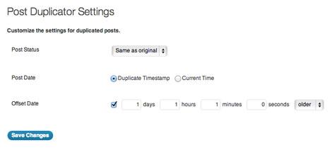 Post Duplicator for WordPress