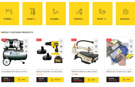 Willard: WooCommerce Theme for Tools & Hardware Stores