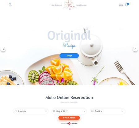 Lafaar Restaurant WooCommerce Theme