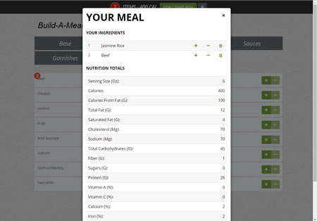 Build A Meal for WordPress: Nutrition Calculator Plugin
