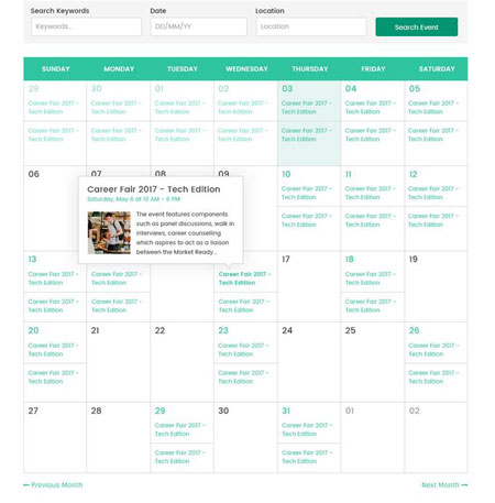 FB-Eventify: Facebook Events Calendar for WordPress