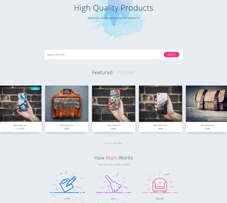 Market Online Store WooCommerce Theme