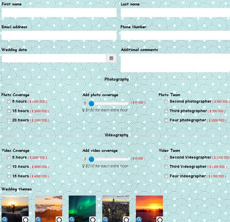 Zigaform: Cost Estimation Form Builder for WordPress