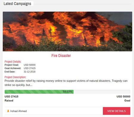 Cyber Fundraiser: Fundraising Plugin for WordPress
