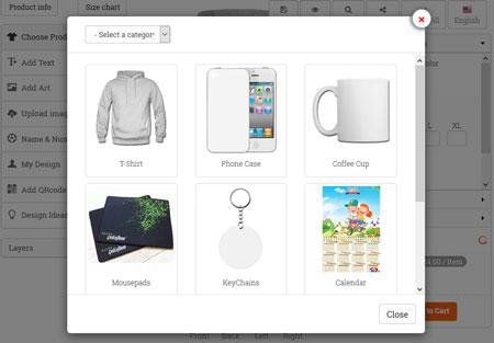 WooCommerce Custom Product Designer Plugin - WP Solver