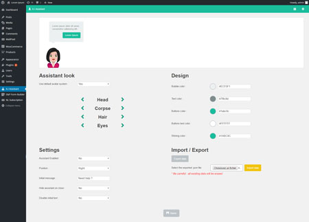 WP A.I Assistant: Smart Virtual Assistant for WordPress