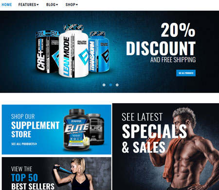 Certionix: Sports Nutrition WooCommerce Theme