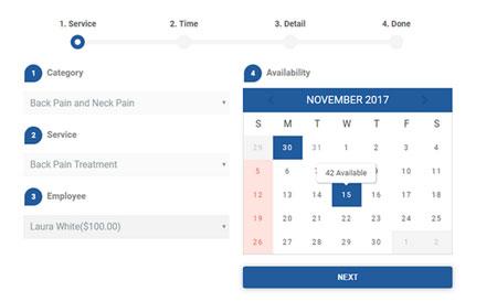 Bookme WordPress Booking Plugin