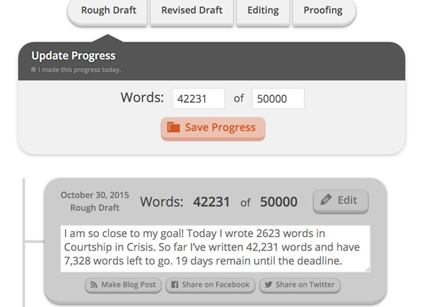 MyBookProgress for Authors: Show Your Book's Progress On WordPress
