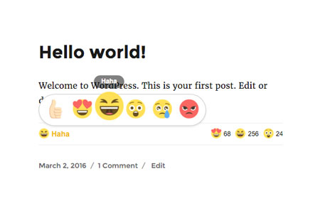 Add Facebook-style Reaction Buttons to WordPress: 5 Plugins
