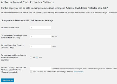 AdSense Invalid Click Protector for WordPress