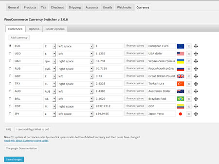 5 Must See WooCommerce Multi-currency Plugins