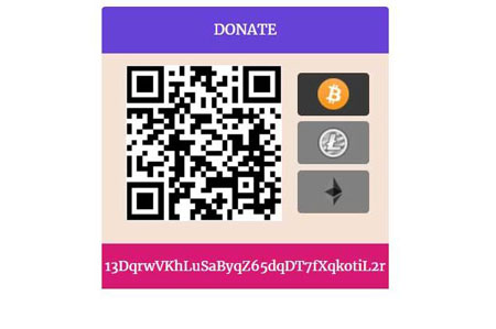 AltCoin DonationBox for WordPress: Accept Cryptocurrency Donations