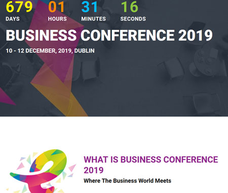 18 WordPress Themes for Conferences & Corporate Events - WP