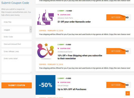 DeCoup: WordPress Theme for Coupons & Deals