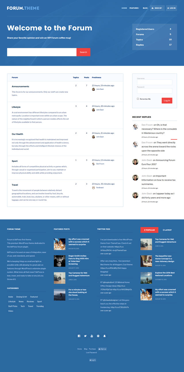 Forum: Responsive Theme for bbPress