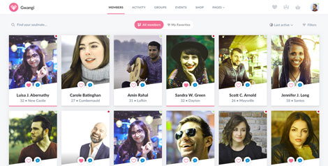 Dating WordPress tema