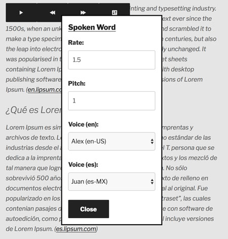 4 Text-to-Speech Plugins for WordPress - WP Solver