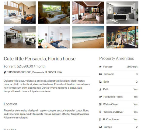 Uber Property: Properly Listing Plugin for WordPress