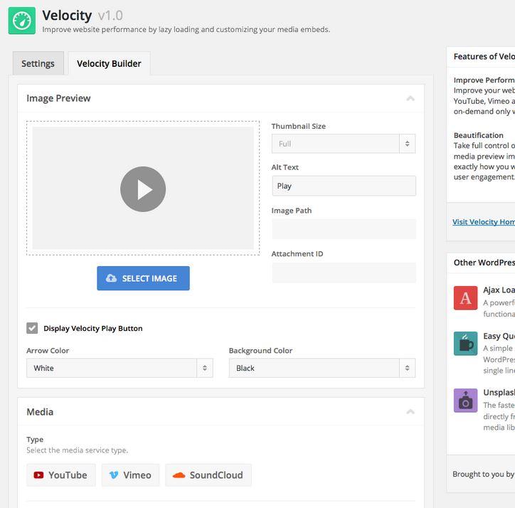 Velocity: Lazy Load Audio & Video In WordPress