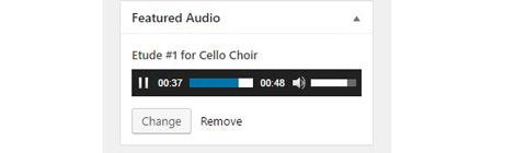 Featured Audio WordPress Plugin - WP Solver