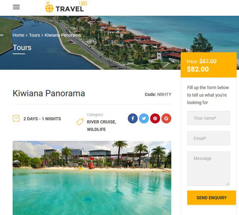 Travel Booking Plugin for WooCommerce