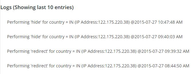 WP Geo IP Action: Redirect Visitors Based on Their Location